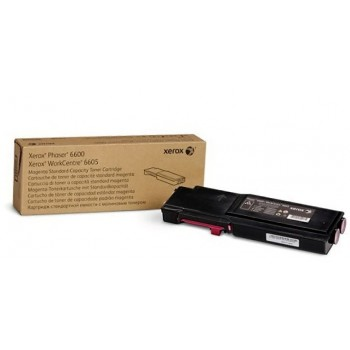 Toner originale Magenta Xerox  Phaser 6600 WC 6605