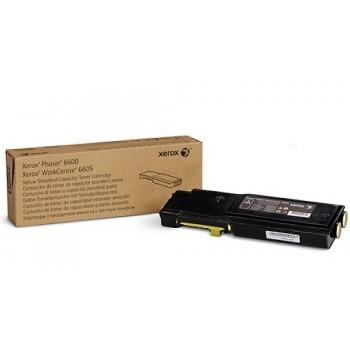 Toner originale Giallo Xerox  Phaser 6600 WC 6605