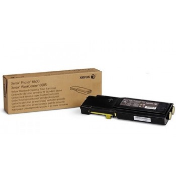 Toner originale Giallo Xerox  Phaser 6600 WC 6605