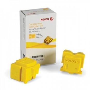 2 STICK cera giallo xerox Phaser CQ 8570