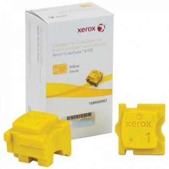 2 STICK cera giallo xerox Phaser CQ 8700