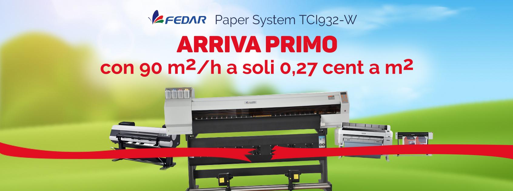 Fedar Paper System TCl932-W
