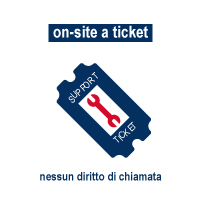 Assistenza on-site a ticket