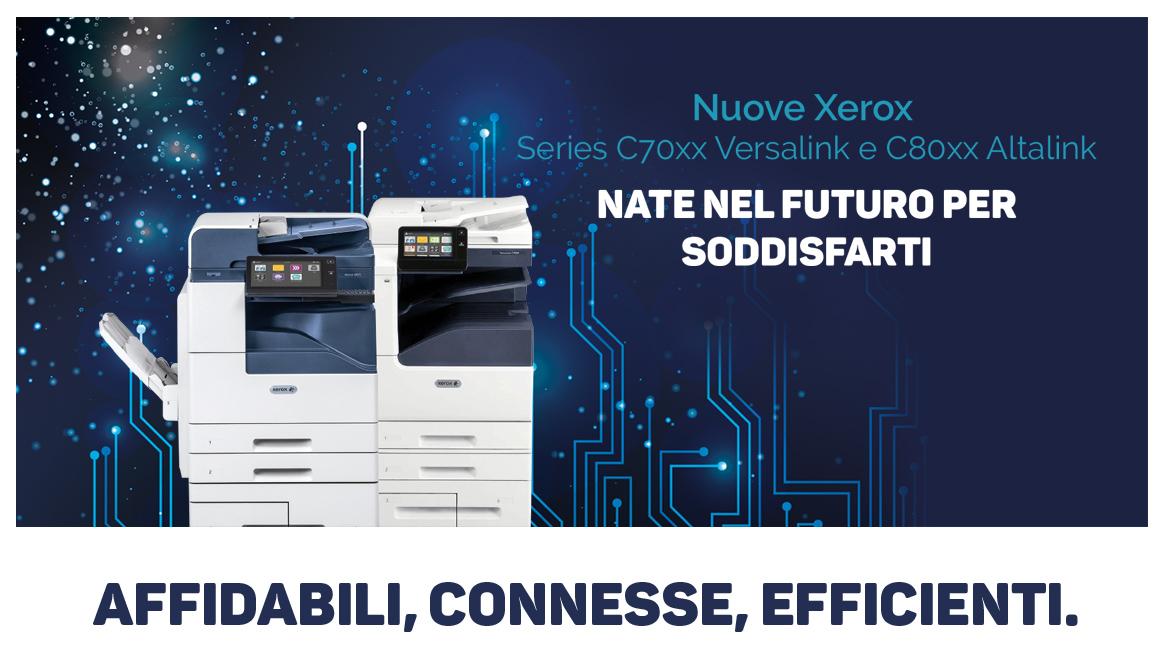 Nuove Multifunzioni Xerox Altalink e Versalink