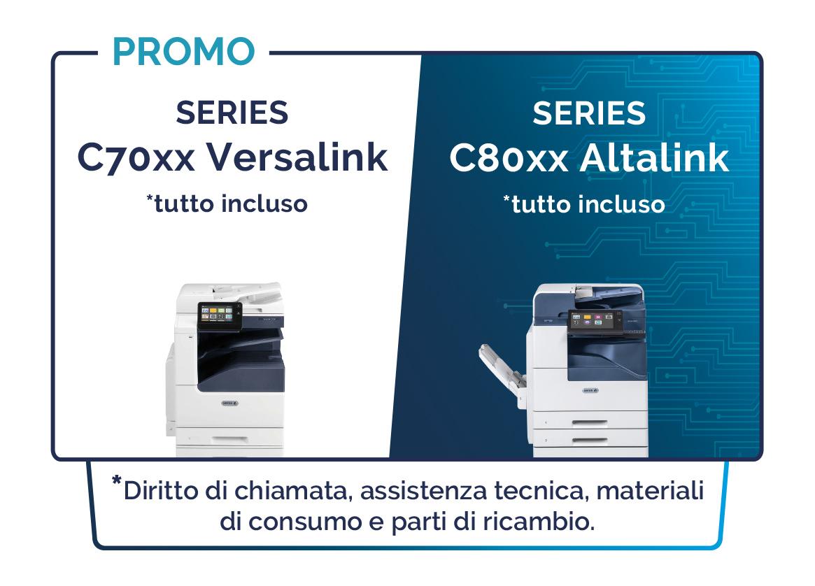 Promo C70 Versalink C80 Altalink